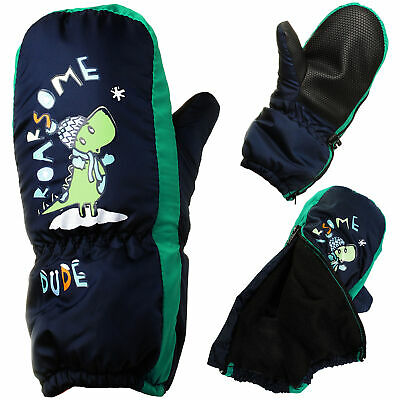 Mittens/Mittens - with Long Shaft + Zip - Sizes: 1 To