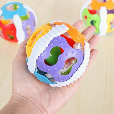 Creative Hand Rattle Ball Toys Baby Rattles Handbell Puzzle Educational Toys AU