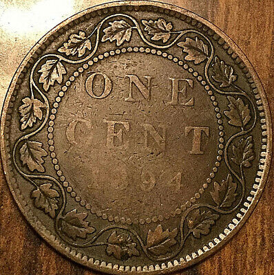 1894 Canada Large Cent Penny Large 1 Cent Coin