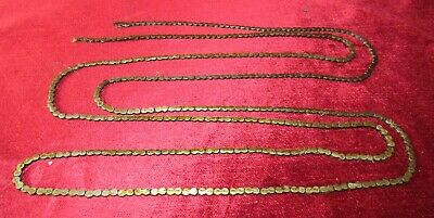 Well Made English Fusee Clock Chain 56in Long