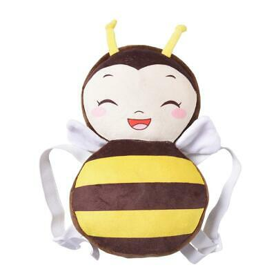 Cute Baby Head Protection Pad Toddler Anti-Fall Headrest Pillow (S Bee) *DC