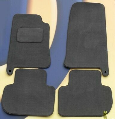 Jaguar Xj6/Xj8/X300 Lhd 94-03 Premier Tufted Grey Car Mats Set Of 4 2 Clips.