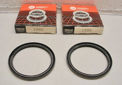 1984 National Wheel Seal NOS - Pair of 2 oil seals