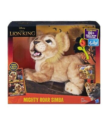 Disney The Lion King FURREAL Mighty Roar Simba interactive - NEW FACTORY SEALED
