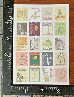 THE WONDERFUL WIZARD OF OZ ONE SHEET BEAUTIFUL STICKERS #MAGO8 STAMPS DESIGN