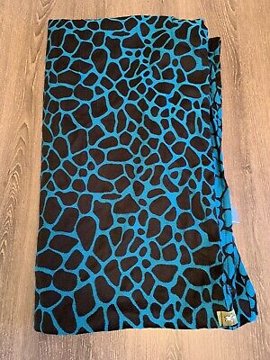Lenny lamb Baby Wrap Size 6 Blue And Black