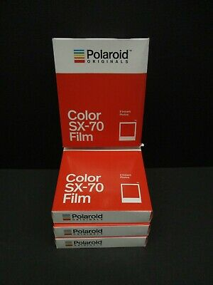 Polaroid SX 70 color film polaroid SX-70 Cameras 4 packs of film 4676