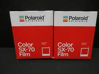 Polaroid SX 70 color film polaroid SX-70 Cameras 2 packs of film 4676