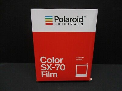 Polaroid SX 70 color film polaroid SX-70 Cameras 1 pack of film 4676