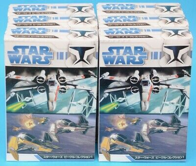 F-toys Star Wars - Vehicle Collection 1 - FULL SET of 6 - Trading Kit - MIB