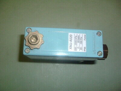 Telemecanique.... Xmj A020............. Pressure Switch 2-20 Bar.. New Not Boxed