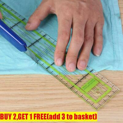 Quilting Handmade Drawing Ruler Patchwork Feet Double-color Yardstick Tailor