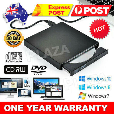 External DVD Drive USB CD RW Burner Laptop/NB/PC Portable Ext Optical Writer NEW