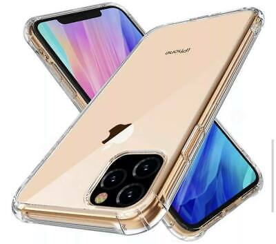 Shockproof iPhone X/11/Pro/Max Clear Case Bumper Crystal Slim Cover Silicone TPU