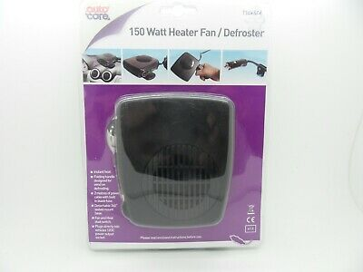 12V 150W Portable Auto Car Ceramic Heater Fan Demister Window Screen Defroster
