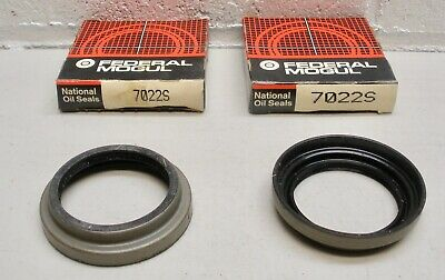 7022S National Wheel Seal NOS - LOT of 2 Oil Seals
