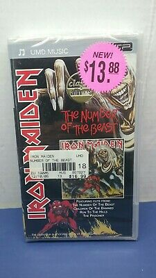 UMD Music PSP Iron Maiden The number of the Beast BRAND NEW SEALED!