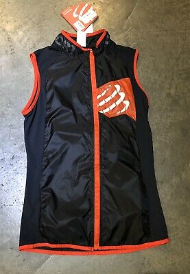 Black Details about  /Compressport 3D Thermo Ultralight Tank Top Sleeveless Jersey Multisport