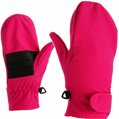 Softshell_Mittens/Mittens - with Long Shaft + Touch Fastener
