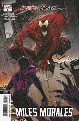 Absolute Carnage Miles Morales #1 FEDERICO VICENTINI 2ND VARIANT Marvel 2019 NM+