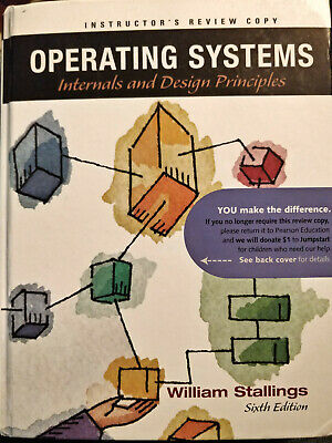 Operating Systems Internals And Design Principles 7th Edition Good 23 82 Picclick