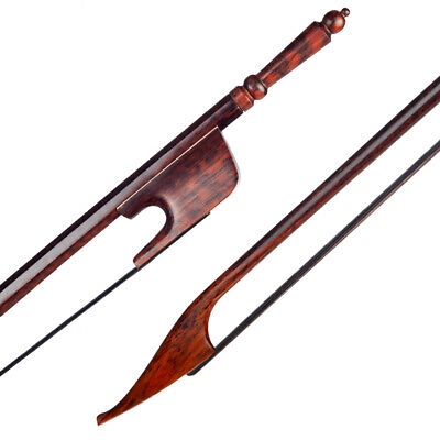 Baroque Style 4/4 Size Cello Bow Beautiful Snakewood Stick Ebony Frog Accessory