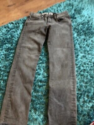 Charcoal Skinny Jeans Age 11-12 Years Worn Once Adjustable Waist