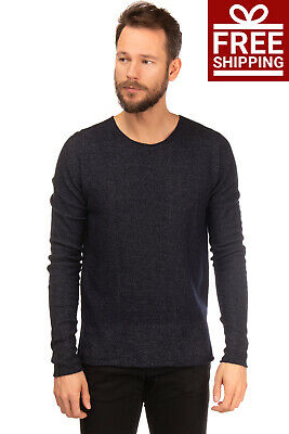 NEW MEN/'S LEE JEANS SWEATER KNITTED V-NECK WOOL JUMPER //RRP:75£// XS//S//M//L//XL//XXL