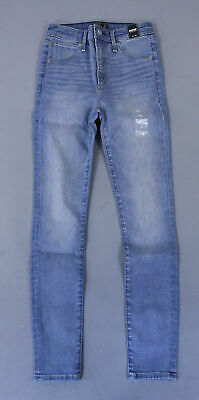 Abercrombie & Fitch Women's High Rise Super Skinny Jeans CD4 Blue 24 Short NWT