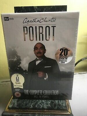 AGATHA CHRISTIE POIROT complete collection 20th anniversary edition, region 2