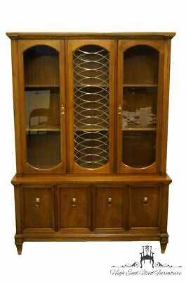 """High End Italian Neoclassical Tuscan Style 52"""" Buffet w. China Cabinet 5451/557"""