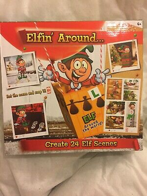 CHEAPEST ON EBAY:- Elf props -24 activities for Christmas 2020-accessories