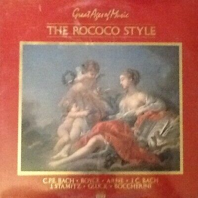 """STILL SEALED Time/Life double LP: Great Ages of Music """"The Rococo Style"""""""