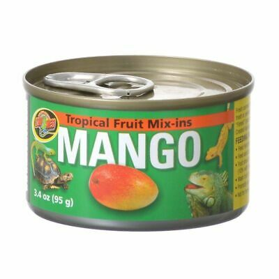 LM Zoo Med Tropical Fruit Mix-ins Mango Reptile Treat 4 oz