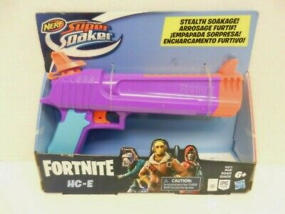 Nerf Super Soaker Fortnite Hc-E Toy Water Blaster ~ Stealth Soakage!