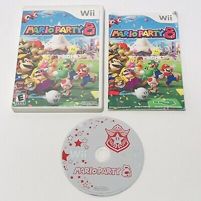 Mario Party 8 Nintendo Wii Console Game Complete & Excellent Tested Minigames