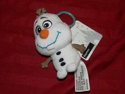 Disney Parks Olaf from Frozen Plush Doll Keychain Backpack Purse Hanger NEW