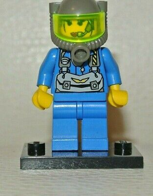 1x rck008 Omino Minifig Rock Raiders Set 3349 Axel LEGO Minifigures