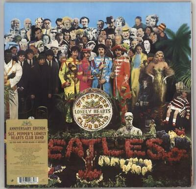 Sgt. Pepper's Lonely Hearts Club Band - 2... Beatles UK vinyl LP  record