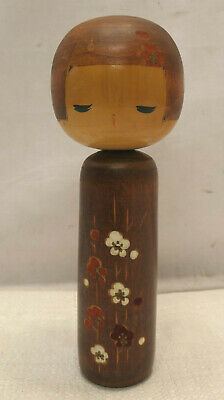 Kokeshi Creative Style Wooden Japanese Doll Handpainted Wood Vintage  #600