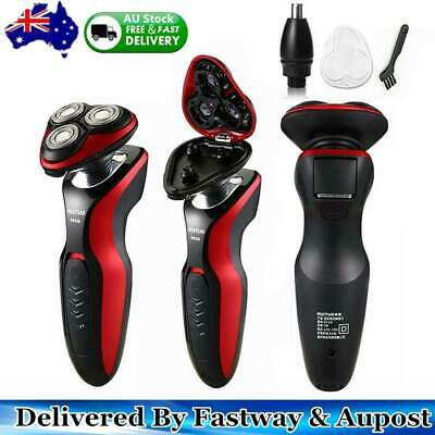 1X Rechargeable Cordless Electric Shaver Dry/ Wet Trimmer Rotary Razor NEW