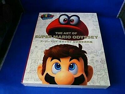 ☀ Nintendo The Art of Super Mario Odyssey Setting Material Collection Book Jpn ☀
