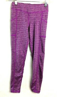 Champion Girls Purple White Leggings Size M 7-8