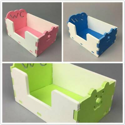 Hamster Cat Animal Puppy Dog Pet Toilet Potty Litter PVC Open Training Tray 6A