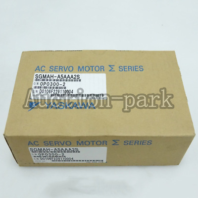1PC NEW IN BOX Yaskawa servo Motor SGMAH-A5AAA2S one year warranty