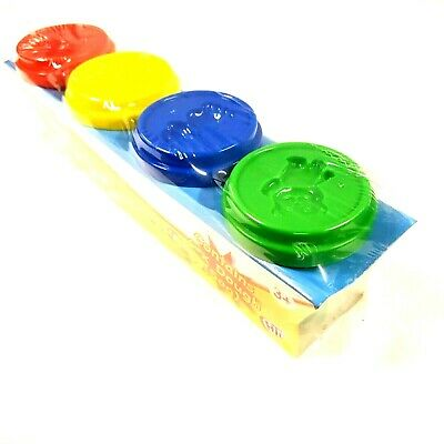 Play and Learn Fun Doh 4 Tubs Tub Pot assorted Kids Gift Pots Random Colours