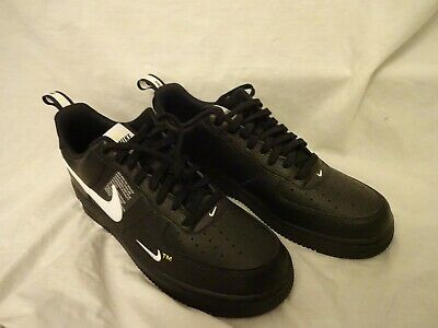 NIKE AIR FORCE 1 '07 LV8 UTILITY BLACK Trainers size UK 11