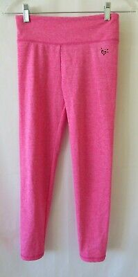 Justice Leggings Heather Pink Size 12  #0704