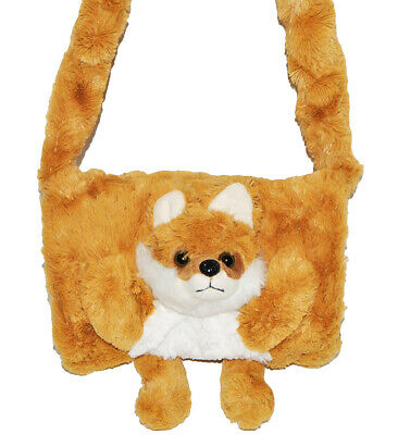 Soft Muff as 3-D Fuchs - with Extra Bag - Children Kids Muff - for Warm Co
