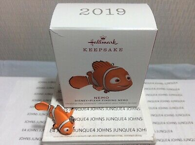 Nemo Hallmark Ornament 2019 New Miniature Disney-Pixar Finding Nemo